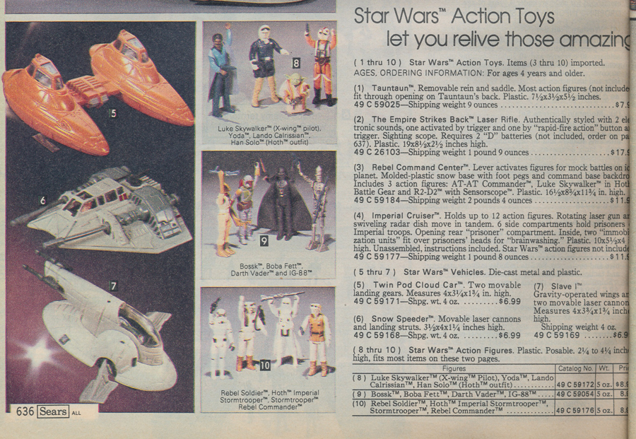 Star Wars vintage die cast toys - Featured articles